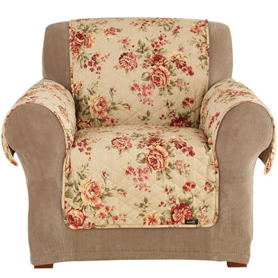 SURE FIT® Lexington Floral 1 Pc. Chair Pet Furniture Cover