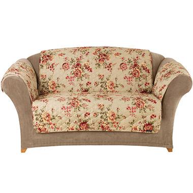 Sure Fit Lexington Floral 1 Pc Sofa Pet Throw