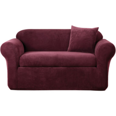 jcpenney.com | SURE FIT® Stretch Metro 2-pc. Loveseat Slipcover