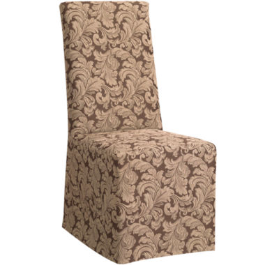 jcpenney.com | SURE FIT® Scroll 1-pc. Dining Chair Slipcover - Long