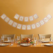 MarthaCelebrations™ Happy Thanksgiving Banner