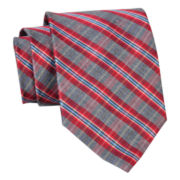 Stafford® Country Plaid Silk Tie