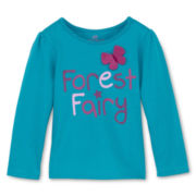 Okie Dokie® Knit Top - Girls 12m-6y