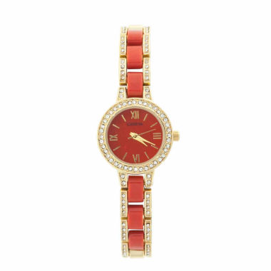 jcpenney.com | Geneva Womens Gold Tone Bracelet Watch-Jcp2959