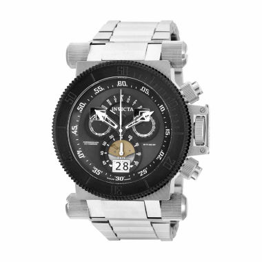 jcpenney.com | Invicta Mens Silver Tone Bracelet Watch-17646