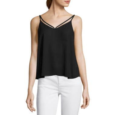 jcpenney.com | Decree® Strappy-Front Tank Top - Juniors
