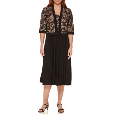 jcpenney.com | R&M Richards Lace Bolero Jacket Dress