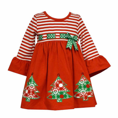 jcpenney.com | Bonnie Jean Long Sleeve Party Dress - Toddler