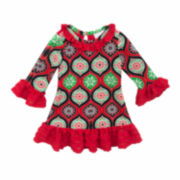 Rare Editions A-Line Dress - Toddler