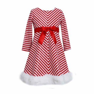 jcpenney.com | Bonnie Jean Long Sleeve Party Dress - Preschool