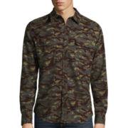 Arizona Long-Sleeve Printed Flannel Shirt