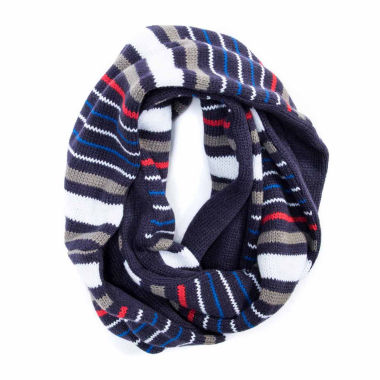 jcpenney.com | Muk Luks Striped Reversible Eternity Scarf