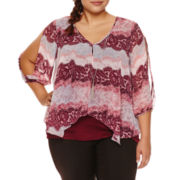 By And By Scoop Neck Blouse