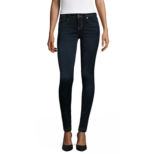 Wallflower Ultra-Skinny Jeans-Juniors