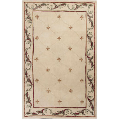 Jcpenney.com | Fleur De Lis Hand Carved Wool Rug Collection