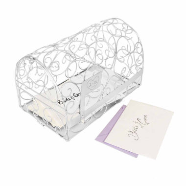 jcpenney.com | Personalized Silver Heart Gift Card Holder