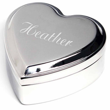 jcpenney.com | Cathy's Concepts Personalized Heart Keepsake Box