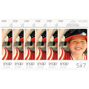 "jcpenney.com | Snap 5x7"" Magnetic Photo Pocket Frames 2 Pack"""