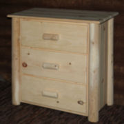 Frontier Pine 3-Drawer Chest