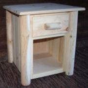 Frontier Pine 1-Drawer Nightstand