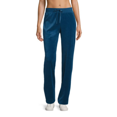 jcpenney.com | Made For Life Velour Workout Pants Talls