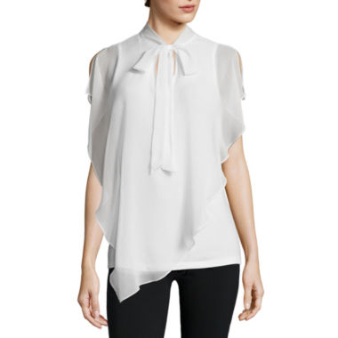 jcpenney.com | Alyx® Short-Sleeve Bow Blouse Top