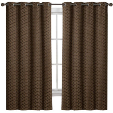 jcpenney.com | Duncan Blackout Grommet-Top 2-pk. Curtain Panels