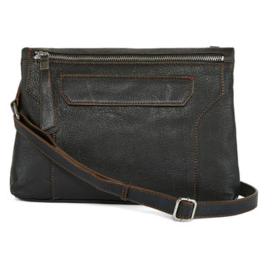 jcpenney.com | Perlina Istanbul Leather Crossbody Bag