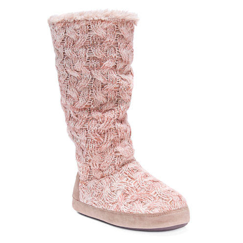 Muk Luks Maleah Bootie Slippers