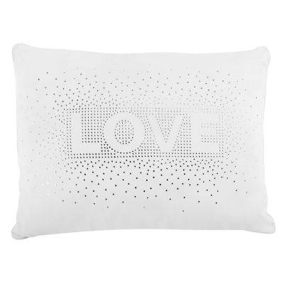 Frank And Lulu Love Sequin Rectangular Throw Pillow