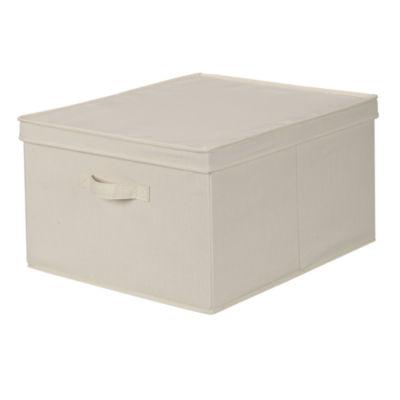 Household Essentials Lidded Storage Box