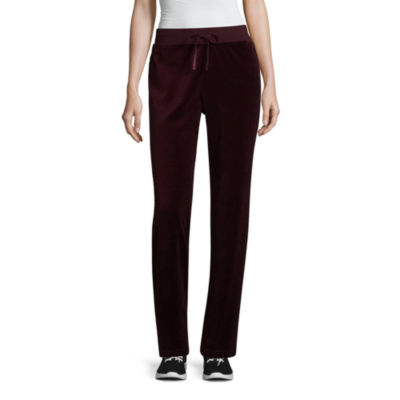 St. John's Bay Active Velour Pull On Pants by Sjb Active
