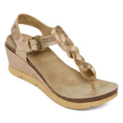 Strictly Comfort Ginser Wedge Sandals