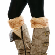 Mixit™ Faux-Fur Boot Topper