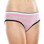 Sweet Treats 5-pk. Solid and Striped Boyfriend Hipster Panties