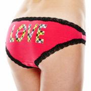 Flirtitude® Valentines Lace Bikini Panties