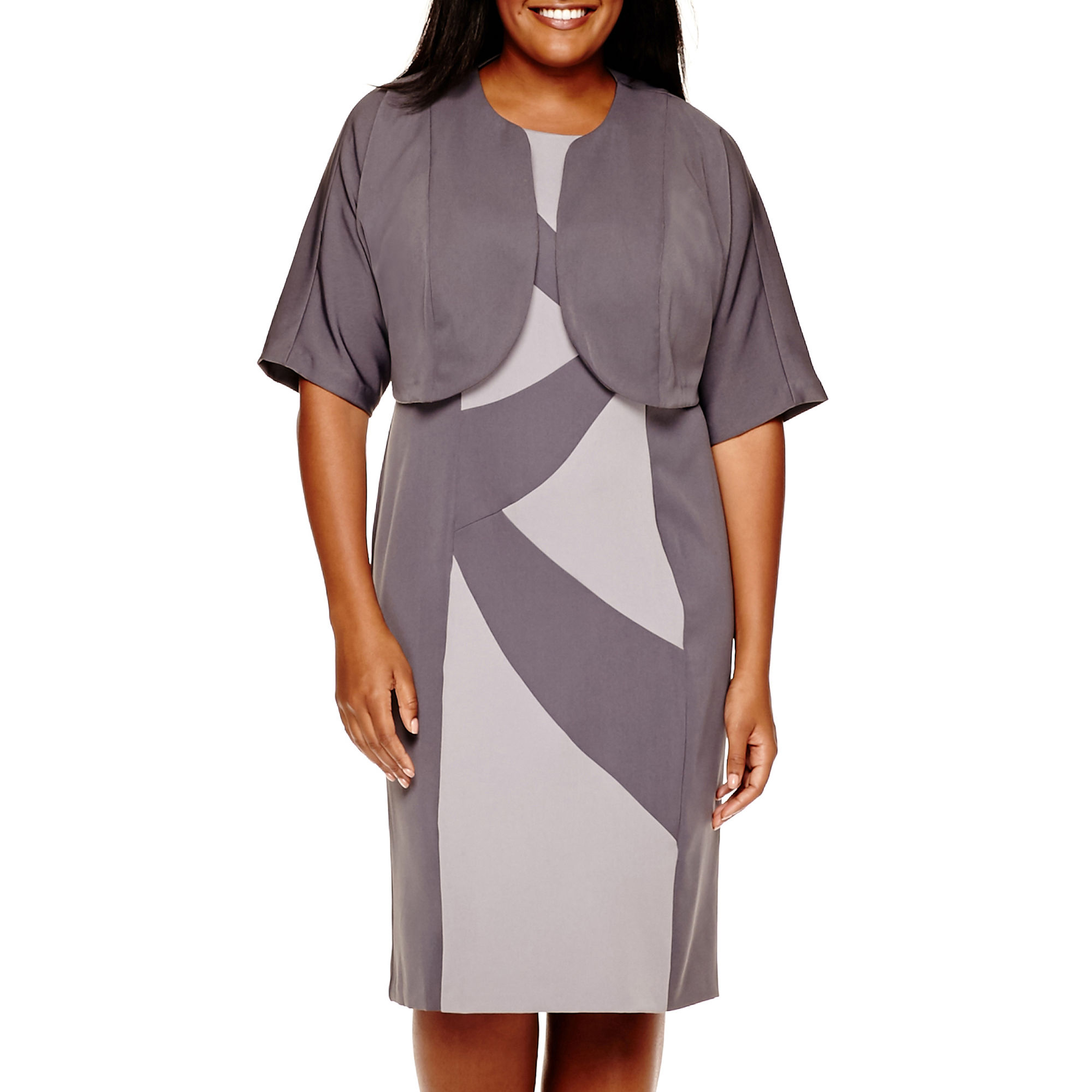 f&f plus length dresses