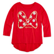 Disney Minnie Mouse High-Low Top - Girls 7-16
