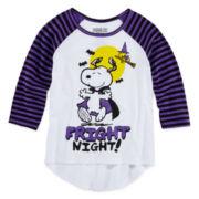 Snoopy Long-Sleeve Halloween Tee - Girls 7-16