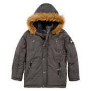Big Chill Faux Fur-Trimmed Expedition Jacket - Boys 8-18