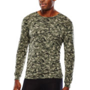 Heat Core™ Lightweight Long-Sleeve Thermal Knit Crewneck Tee