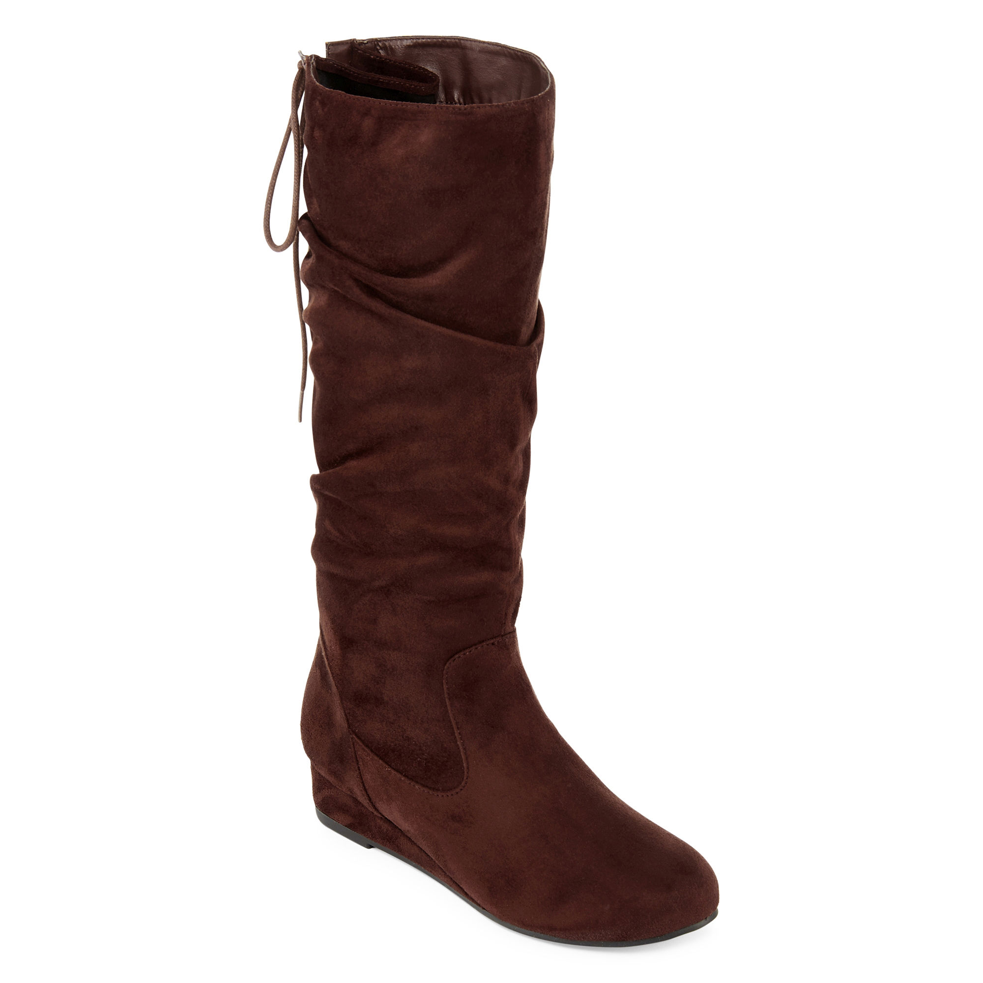2 Lips Too Misty Womens Wide Calf Boots