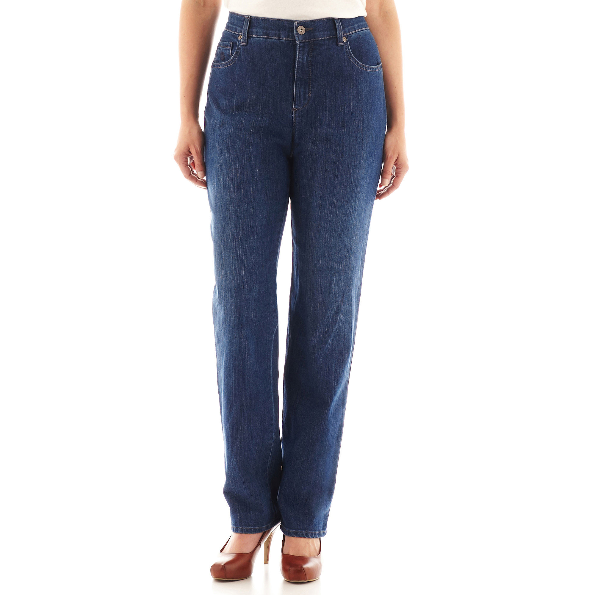 Gloria Vanderbilt Amanda Jeans plus size,  plus size fashion plus size appare