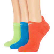 Nike® 3-pk. Dri-FIT Cushioned No-Show Socks