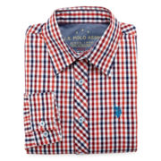 U.S. Polo Assn.® Plaid Woven Shirt - Boys 8-18