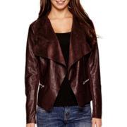 i jeans by Buffalo Faux-Leather Flyaway Jacket