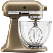 KitchenAid® 5-qt. Artisan® Design Series Stand Mixer with Glass Bowl