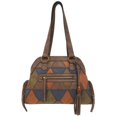 jcpenney.com | Bueno Of California Triangle Dome Shoulder Bag