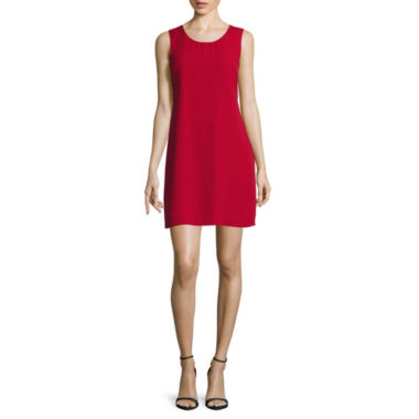 jcpenney.com | Decree® Sleeveless Ruffle-Back Tank Dress - Juniors