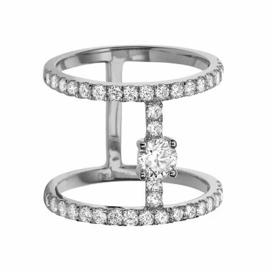 jcpenney.com | LIMITED QUANTITIES! Womens 1 CT. T.W. White Diamond 14K Gold Cocktail Ring